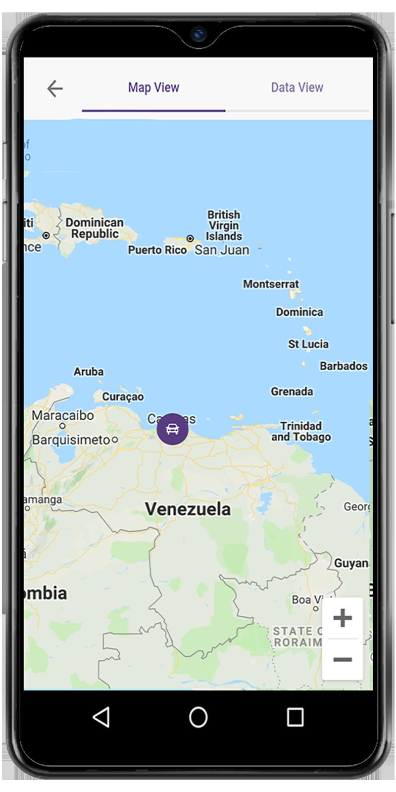Aplicación Móvil Tracker GPS